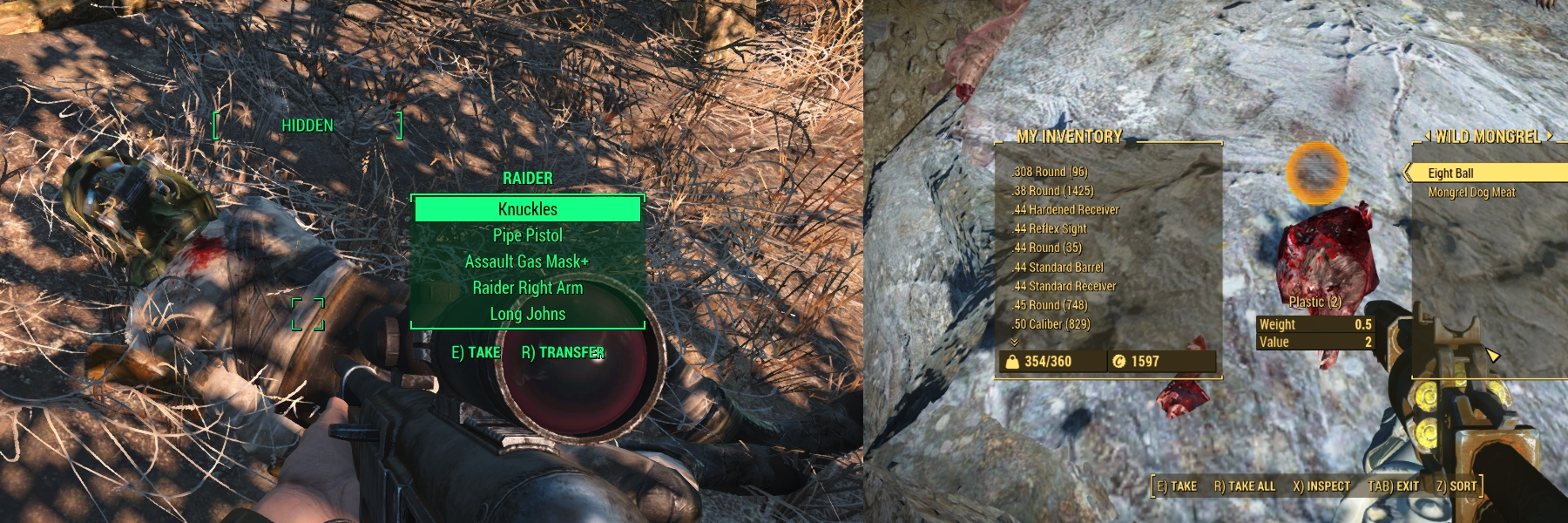 conscious interactive fallout 4 Loot